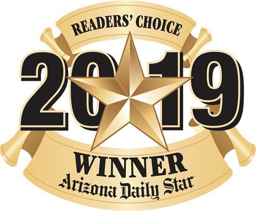2019 Reader's Choice Award Winner