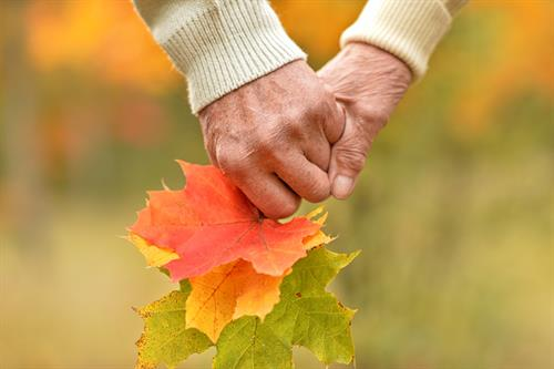 In the autumn of life,we don.t want to worry about anything, just be happy and enjoy the beautiful day!