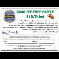2020 Fee Free RAFFLE