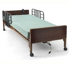Home care bed fully powered