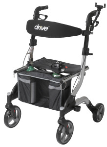 Drive medical Rollator with oxygen holder