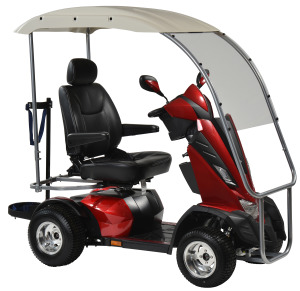 Drive King Cobra 4 wheeled scooter w/ canopy