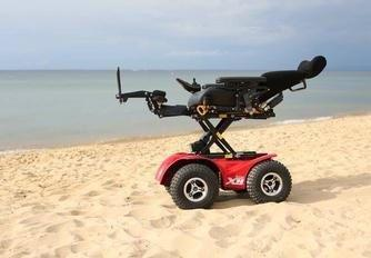 X8 power chair for types of terrains