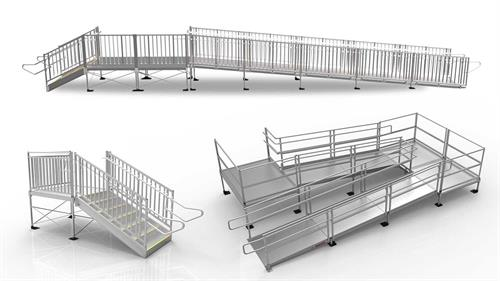 EZ Access modular custom ramps