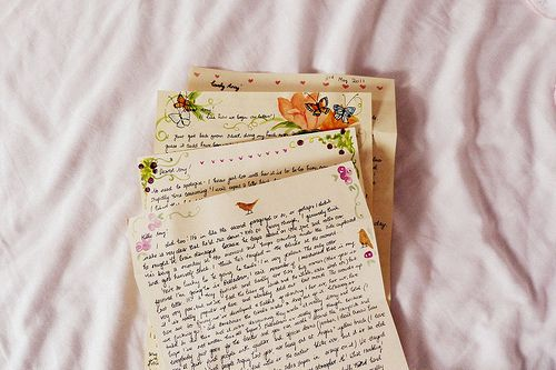 Handwritten Letters are Special