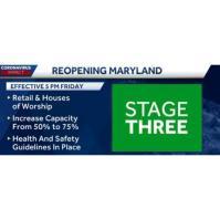 MD Governor Hogan Announces Phase Three