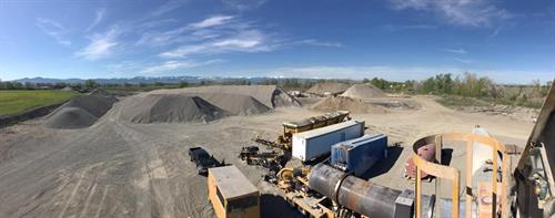 Panoramic view from the top of our ADM Asphalt Plant