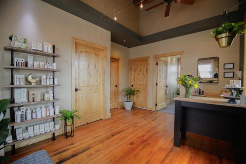 Welcome & Retail; located upstairs at 17 Meadow Village Dr