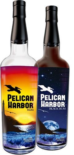 Pelican Harbor Rum and Black Rum