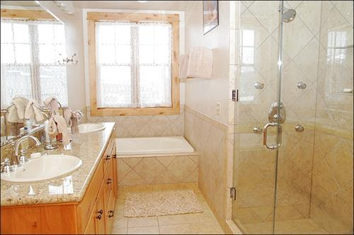 DH Home master bathroom