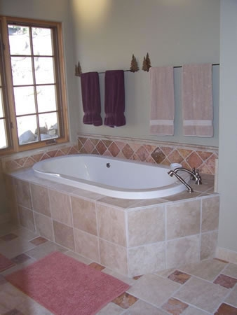 CH home master bathroom