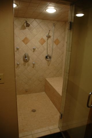 DH home steam room