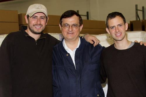 Barry Cik, our founder, with sons Jeff and Jason