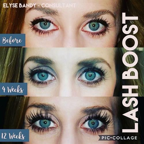 Lash Boost Before and After