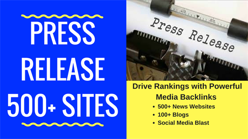 Write and Distribute a Press Release for business or service