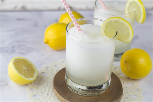 Lemon Burst Wine Frappe