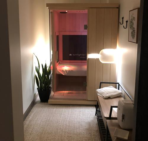 Private Infrared Sauna in a Private Room
