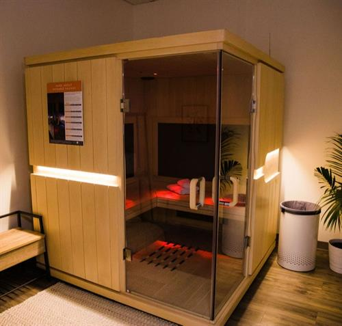 Infrared sauna sessions help boost immunity and detoxify