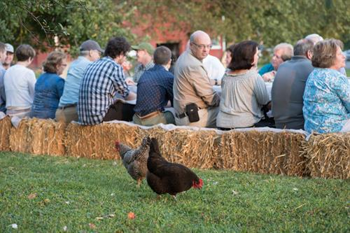 Harvest Bell Farm dinner with Cleveland Field Kitchen