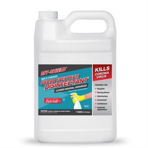 EPA Approved Broad Spectrum Disinfectant that kills and protects against COVID19 and flu