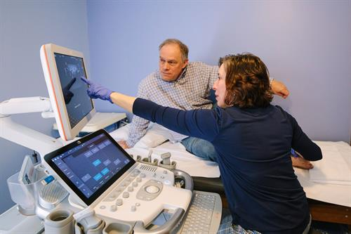 High level musculoskeletal ultrasound expertise and individualized care
