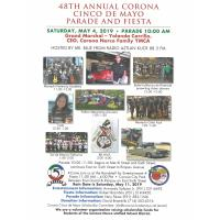 48th Annual Corona Cinco de Mayo Parade and Fiesta