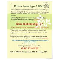 Do you have type 2 Diabetes?