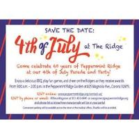 Annual 4th of July Celebration at The Ridge