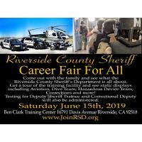 Riverside County Sheriff Career Fair For All