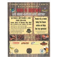 Food Runners Club's 3rd Annual BBQ & Brews