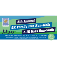 5th Annual 5K Family Fun Run-Walk & 1K Kids Run-Walk
