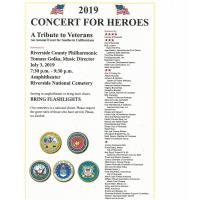 2019 Concert For Heroes