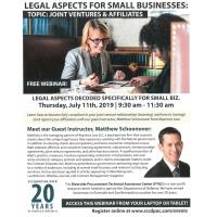 Legal Aspects For Small Businesses