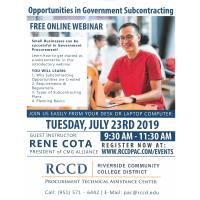 Opportunities in Government Subcontracting