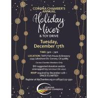 Corona Chamber Holiday Mixer & Toy Drive
