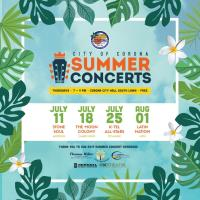 City of Corona Summer Concerts