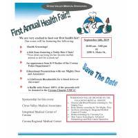 First Annual Health Fair
