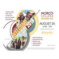 Norco College Welcome Day