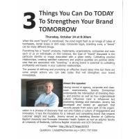 Three Things to Strengthen your Brand