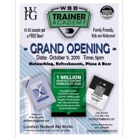 WSB Trainer Academy Grand Opening