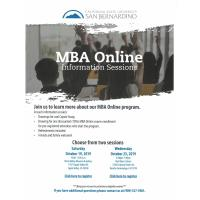 MBA Online Information Sessions