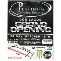 Platinum Collision Centers Dos Lagos Grand Opening