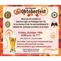 2nd Annual Octoberfest