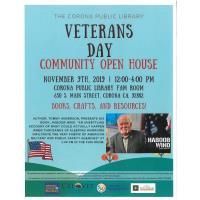 Veterans Day Community Open House