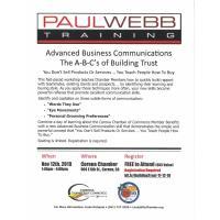 Advanced Business Communications - POSTPONED