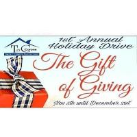 "Town & Country Escrow Corp.1st Annual ""Gift of Giving"" Holiday Drive"
