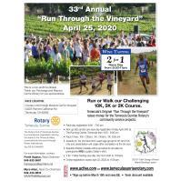 """33rd Annual """"Run Through the Vineyard"""""""