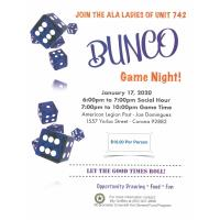 Bunco Game Night!