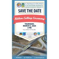 Ribbon Cutting Ceremony Cajalco Road I-15 Interchange Improvement Project