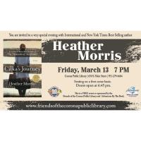 You are Invited to Very Special Evening with International and New York Times Best-Selling Author Heather Morris
